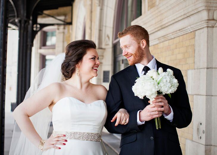 A history and science themed wedding at the depot in for Fitness depot wedding