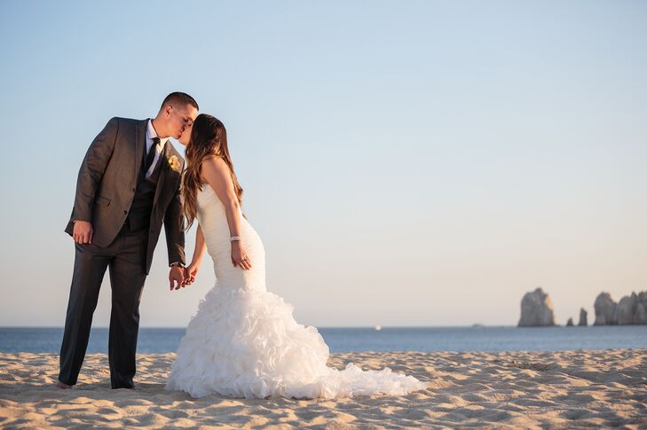 A Destination Wedding At Riu Palace Resort Cabo San Lucas In Mexico