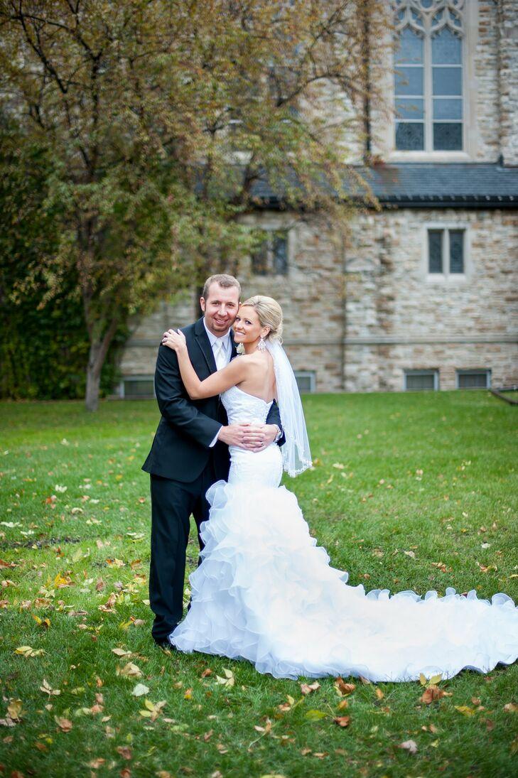 A classic formal wedding in fargo nd for Wedding dresses fargo nd