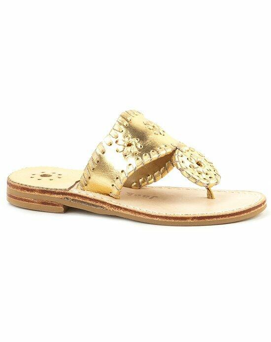 jack rogers womens diamond monogrammed sandal wedding shoes