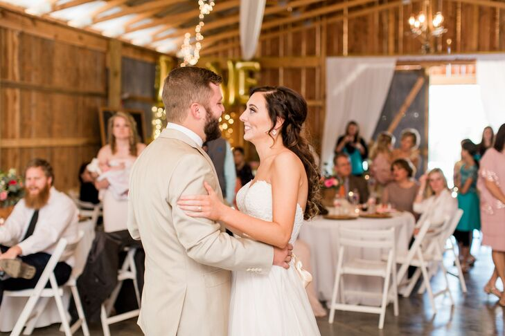 First Dance At Wagon Wheel Acres