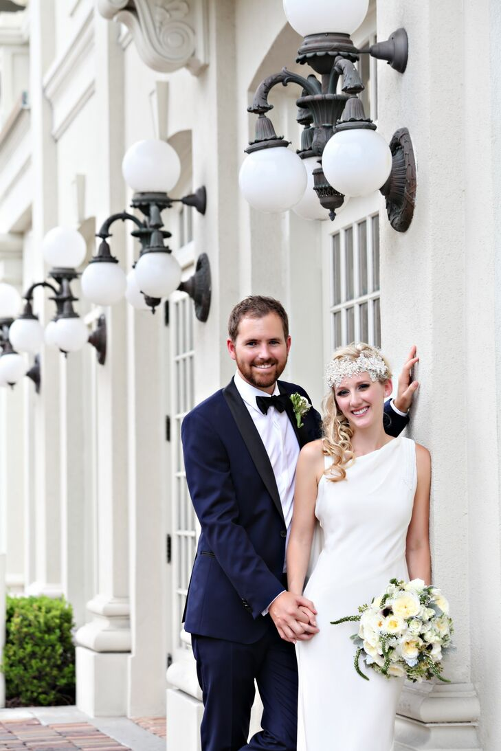 A Great Gatsby-Inspired Wedding at the Ballroom at Church St. in ...