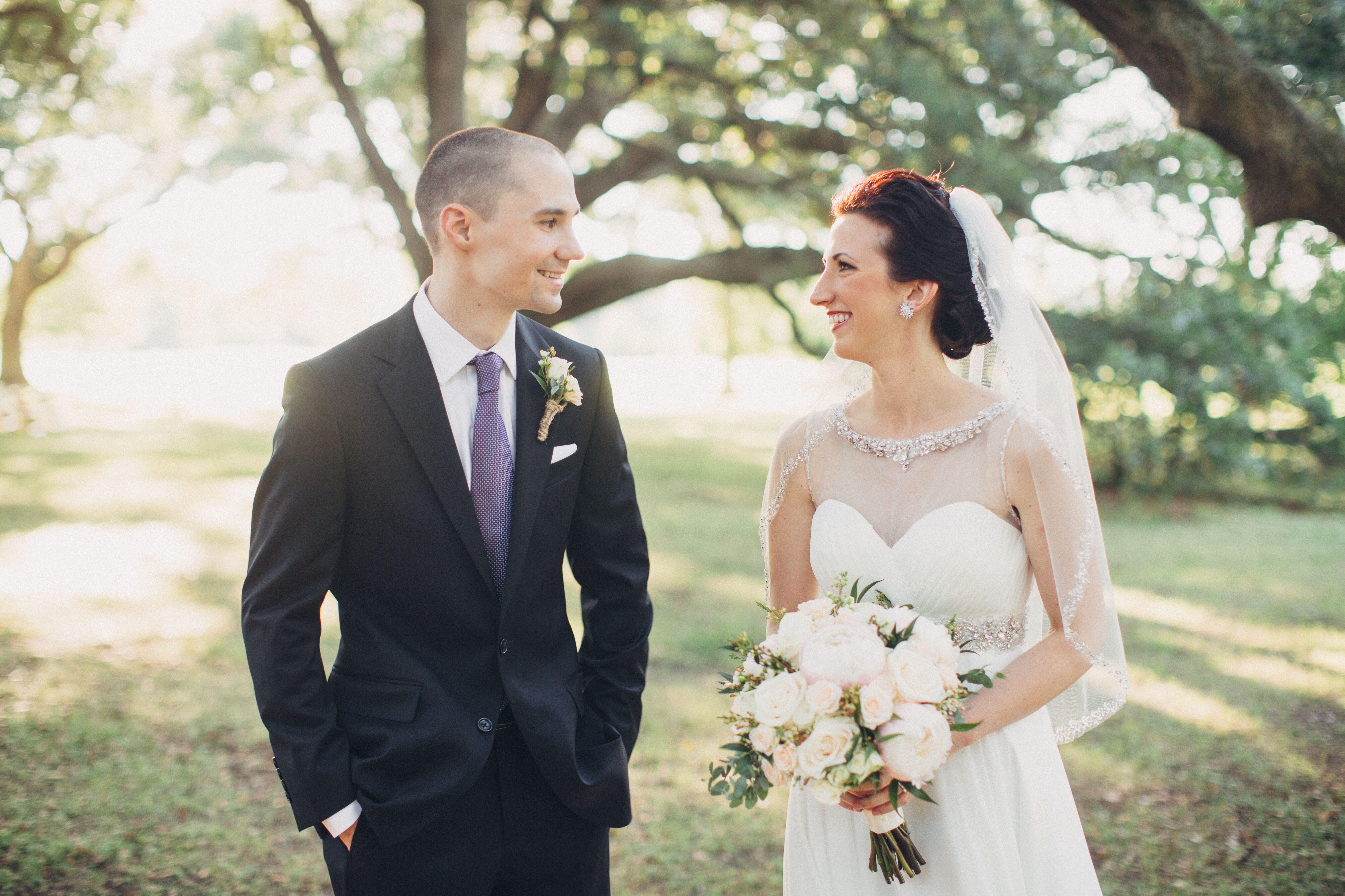 A Romantic Natural New Orleans Wedding At Audubon