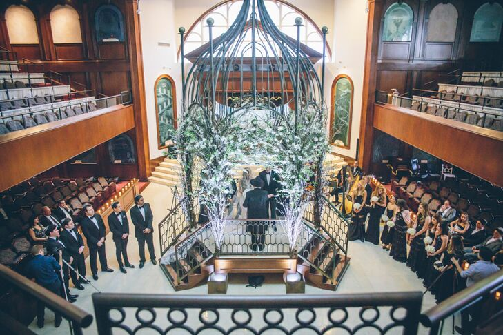 For Their Ceremony Chloe And Geoff Chose A Synagogue Built By Her Grandfather The