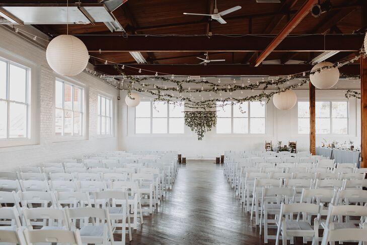 Reading Art Works Rustic Modern Ceremony