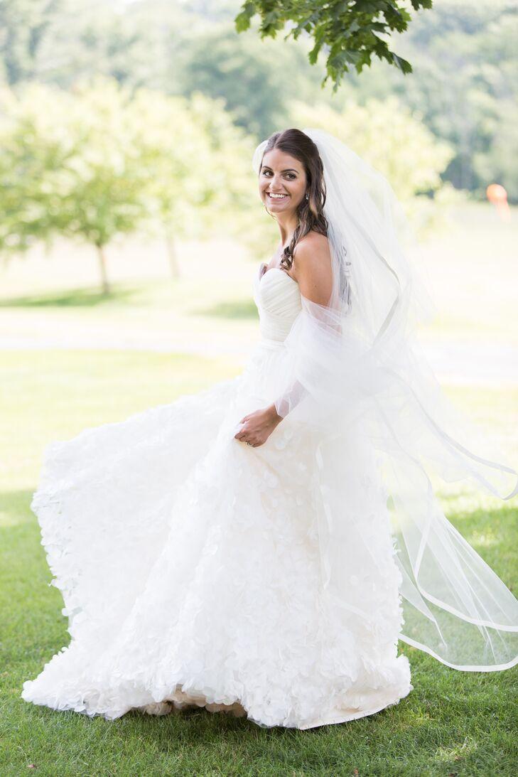 Ballroom Petal Bridal Gown