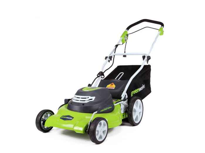 GreenWorks lawn mower