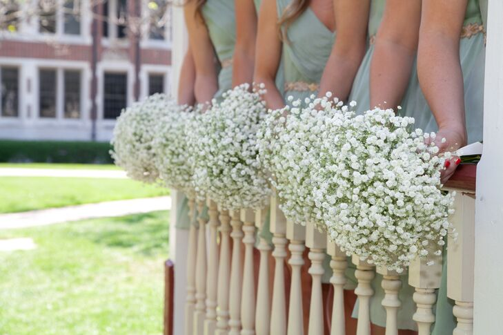 Simple Baby's Breath Bouquets