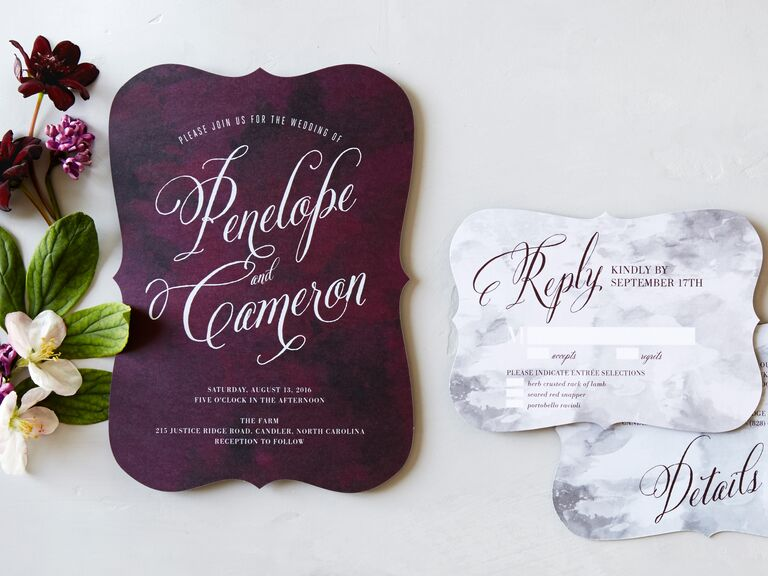 Wedding Diva Invitations: 20 Prettiest Wedding Invitations