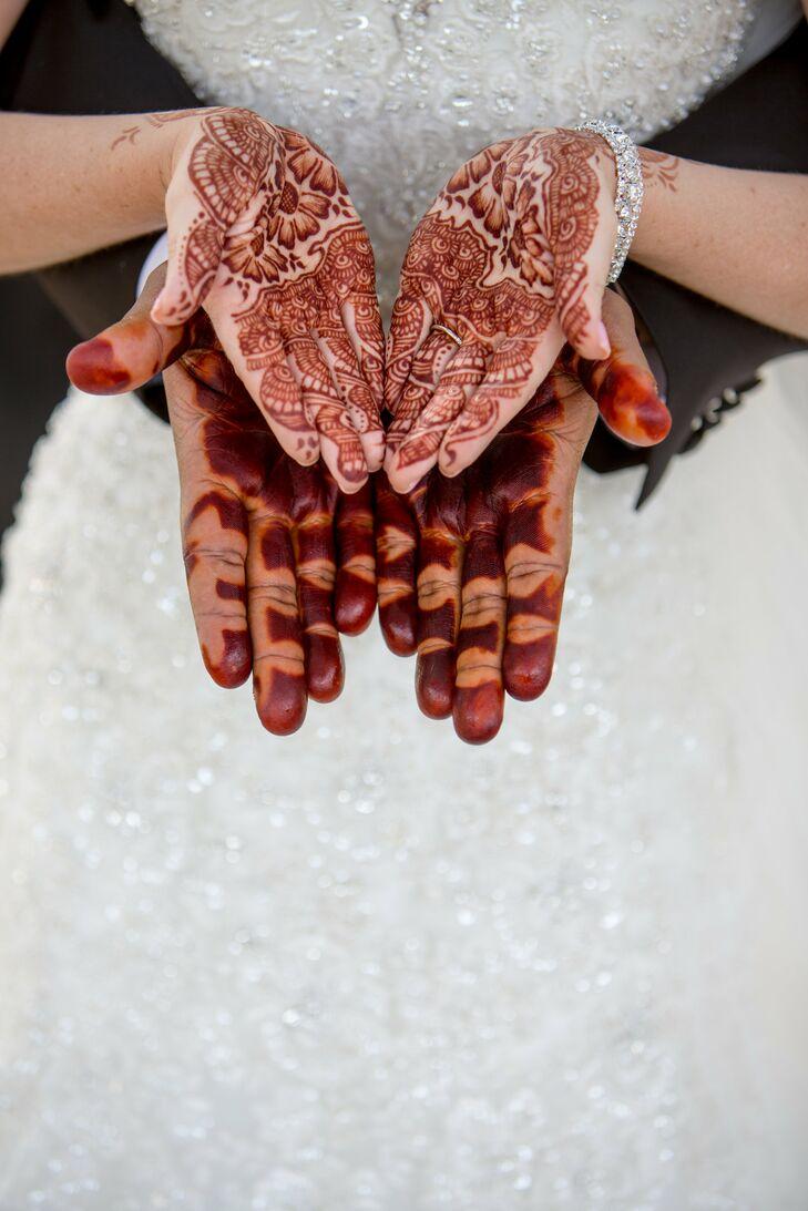 Traditional Sudanese Henna at Scottsdale, Arizona Wedding