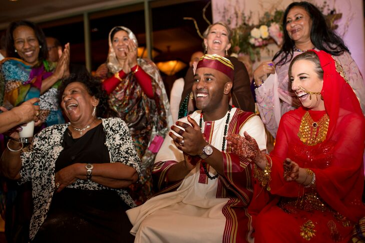 traditional sudanese wedding ceremony at troon north golf club