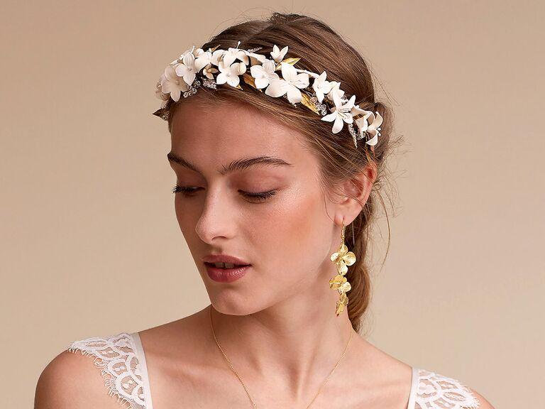 Bhldn Boho Wedding Hair Accessories