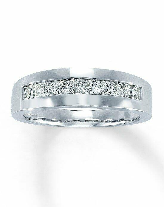 Kay Jewelers 14kw 1ct men's square cut diamond ring-50868203 Wedding Ring photo