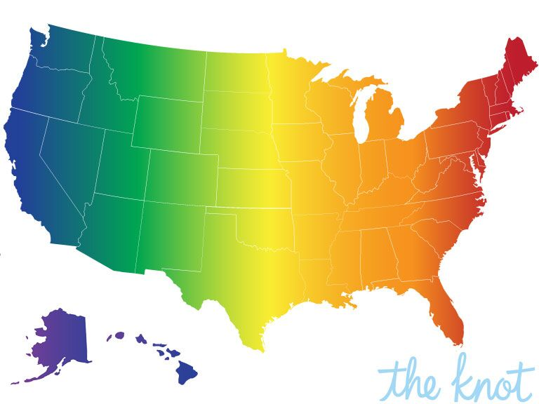 Gay Marriage States: History of Same Sex Marriage in US