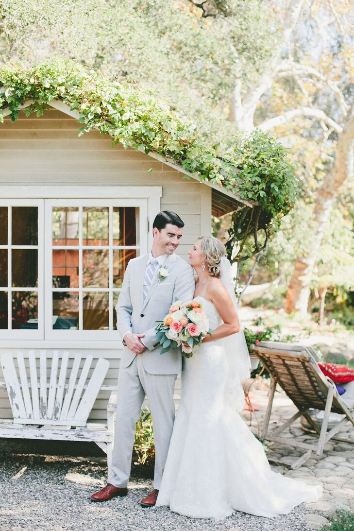 A Rustic Backyard Wedding With An Elegant Twist At A Private Residence In  Santa Barbara, California