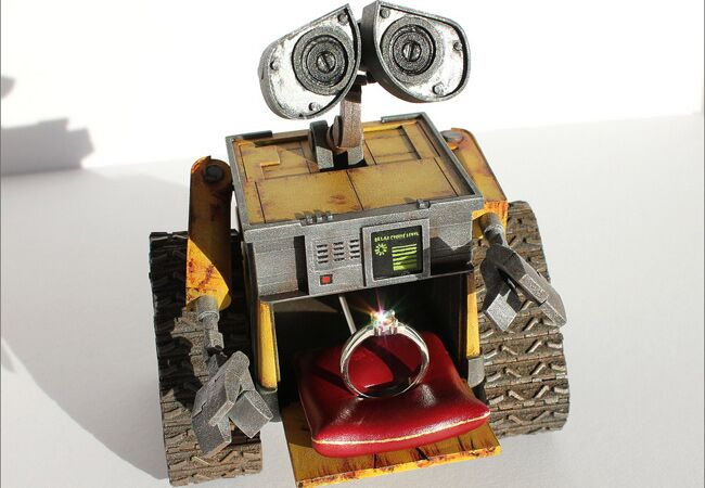 Wall-E Ring Box