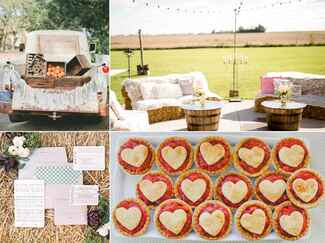 Country themed wedding ideas