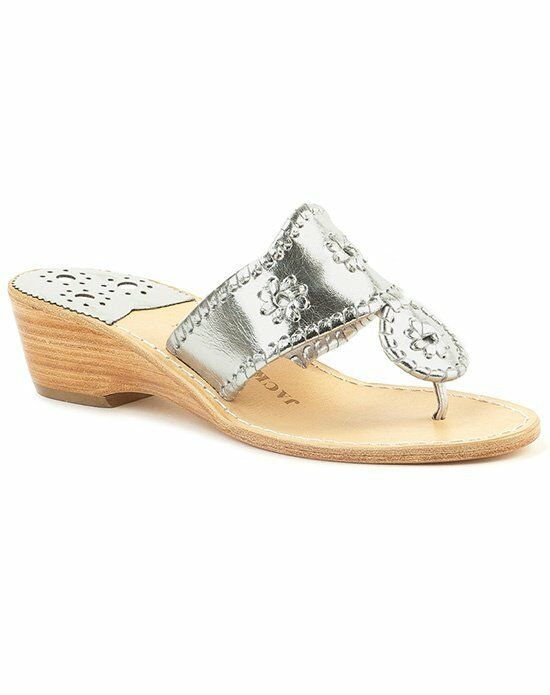 Jack Rogers Hamptons Mid Wedge-silver Wedding Accessory photo