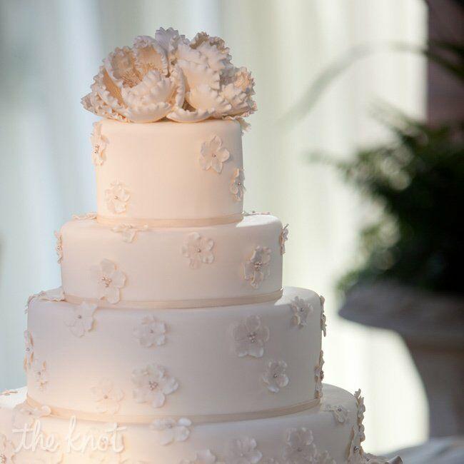 Wedding Cake 101 An Introduction To Wedding Cakes: Four Layer Wedding Cake