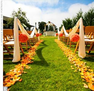 outdoor wedding ceremony decor the ceremony decor 6319