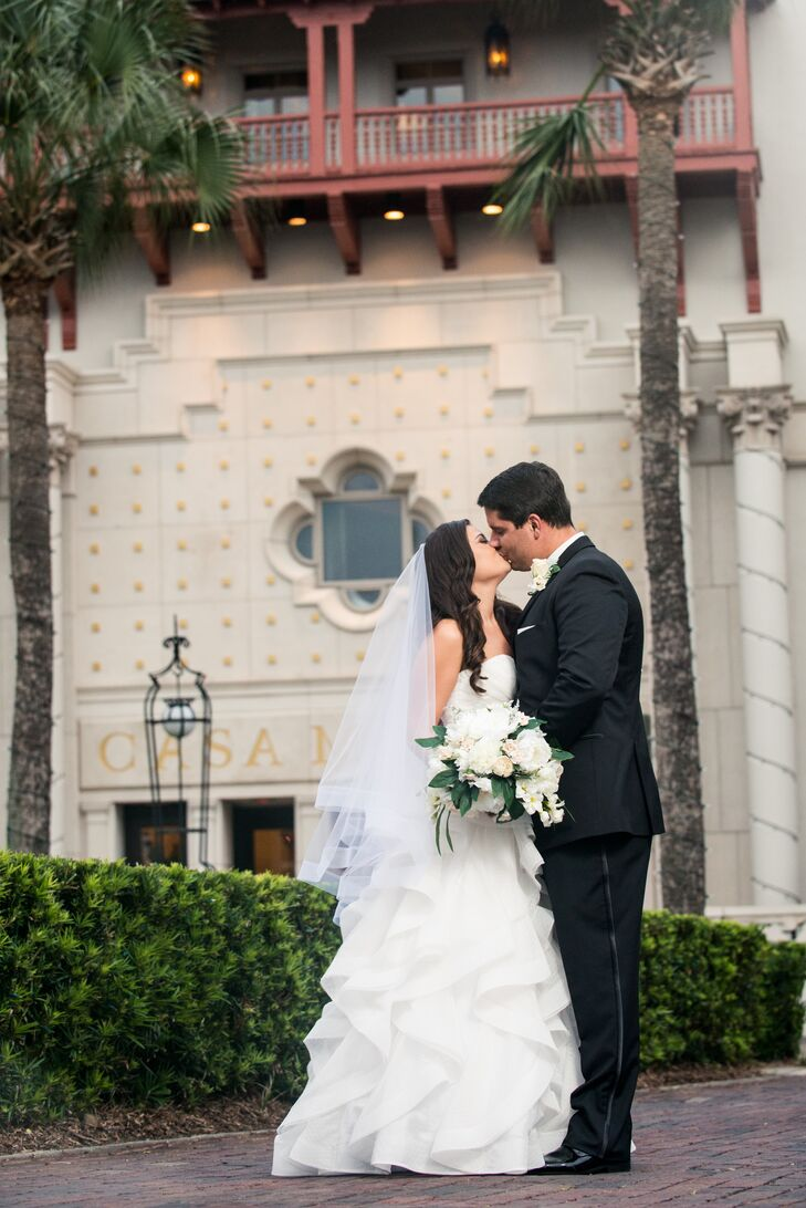A White And Gold Wedding At Casa Monica Hotel In St Augustine Florida