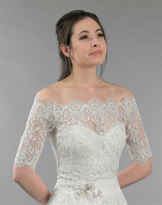 Tulip Bridal Off Shoulder Lace Wedding Jacket-WJ010 Wedding Jackets photo