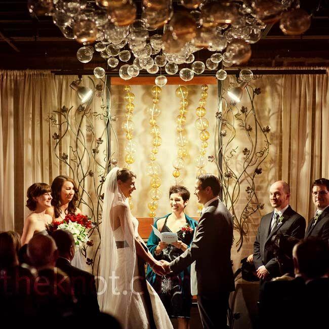A contemporary museum wedding in ann arbor mi for Ann arbor wedding dress