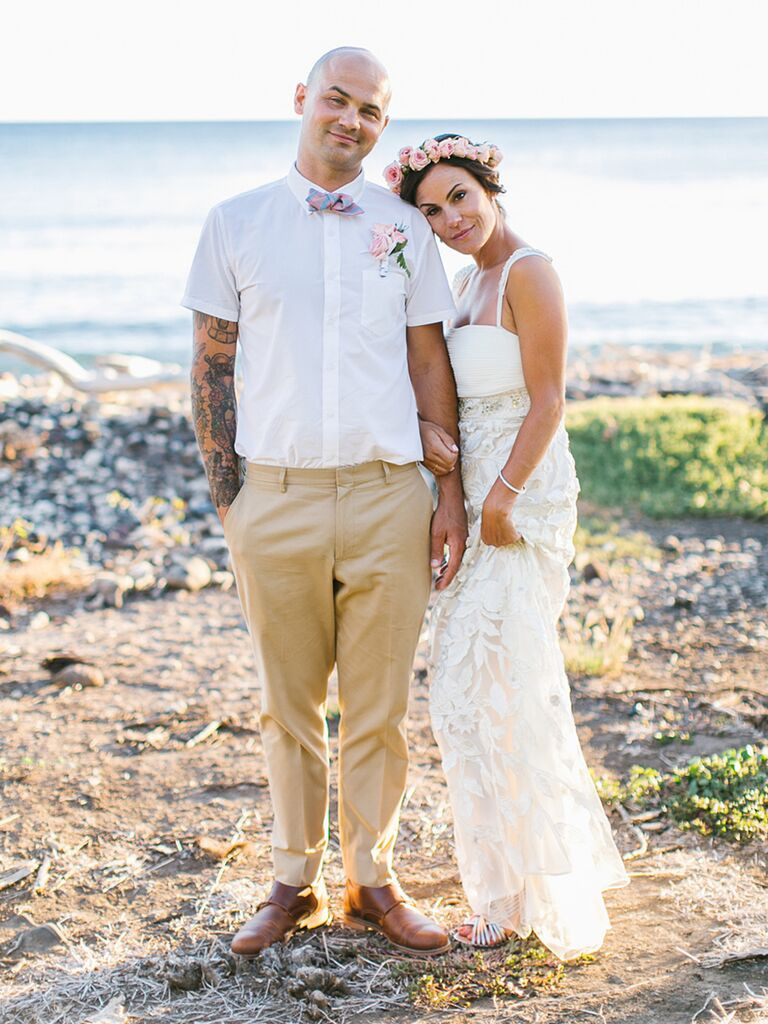16 best nautical wedding ideas blue linen grooms suit and strapless bridal gown ombrellifo Images
