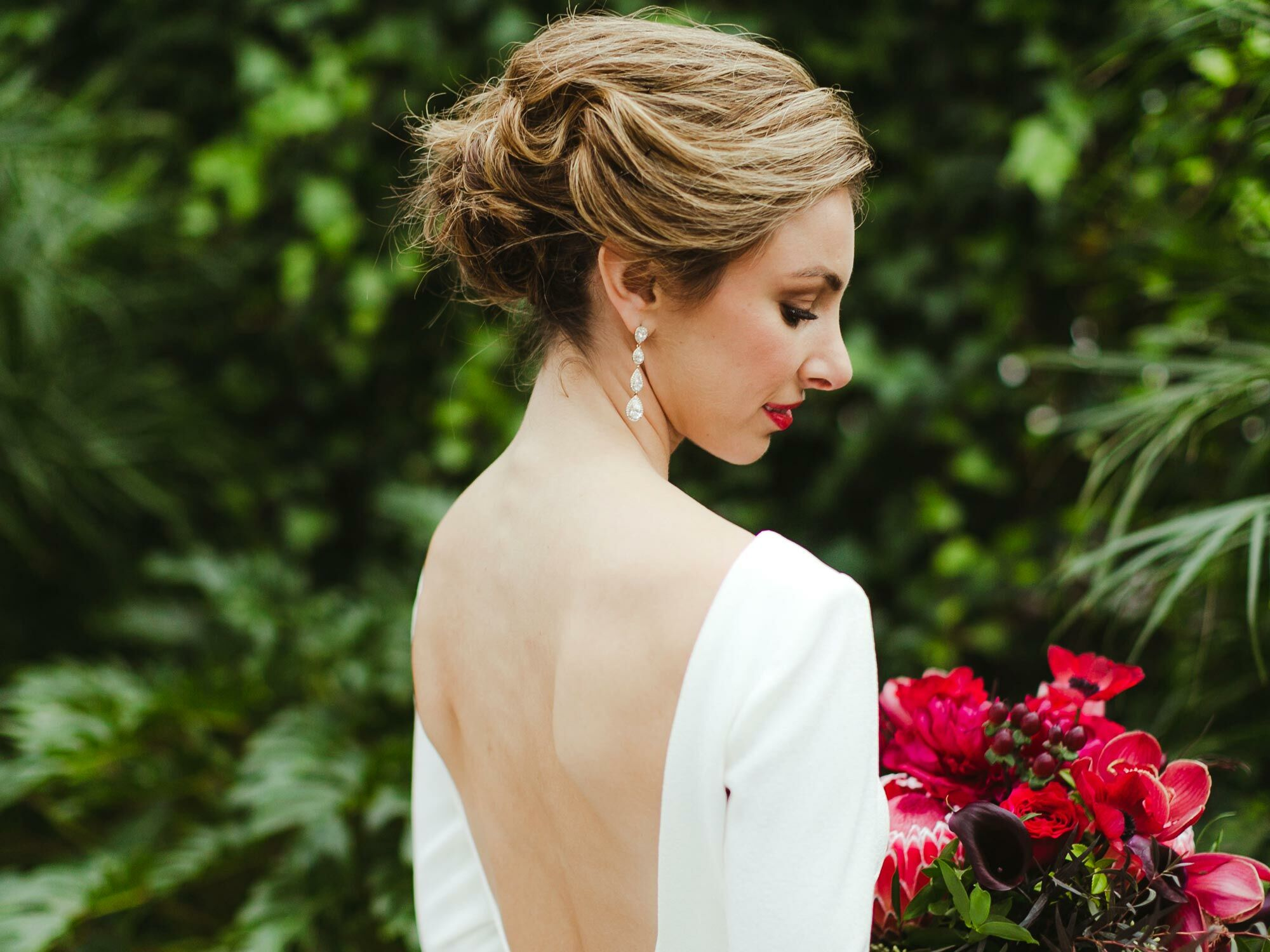 a hair and makeup quiz to help you find your wedding look