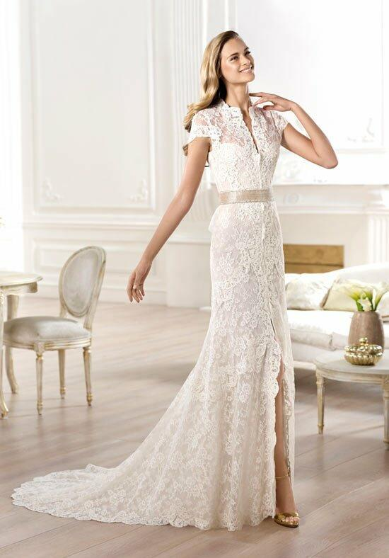 PRONOVIAS Yanguas Wedding Dress photo