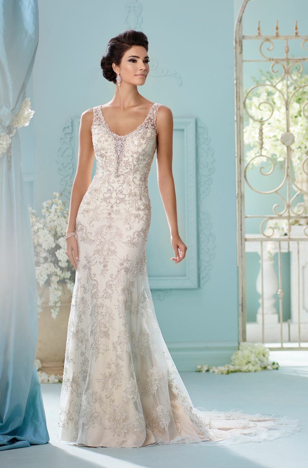 David Tutera Spring 2017 Collection: Bridal Fashion Week Photos