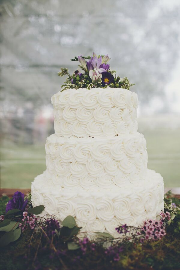 wedding cakes chestertown md rustic purple centerpiece 24063