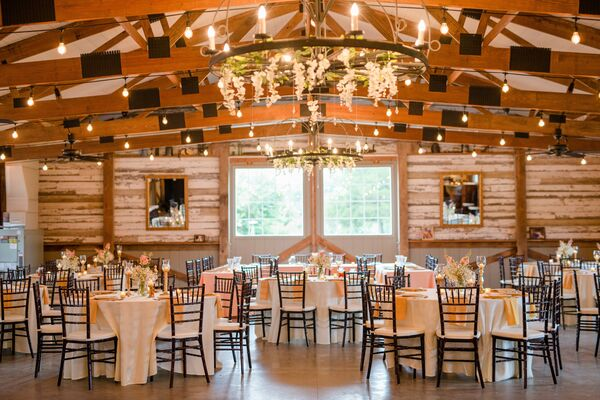 An Indoor Rustic Ceremony: Rustic Indoor Ceremony