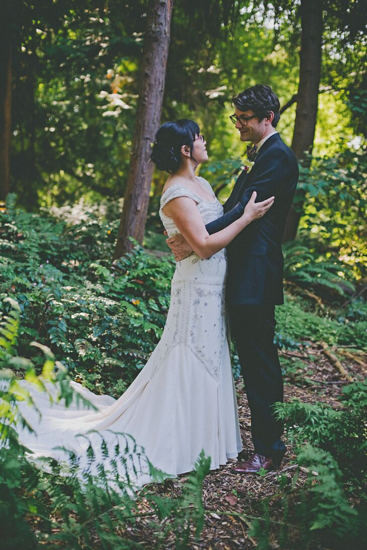 A Simple Wedding At Washington Park Arboretum In Seattle