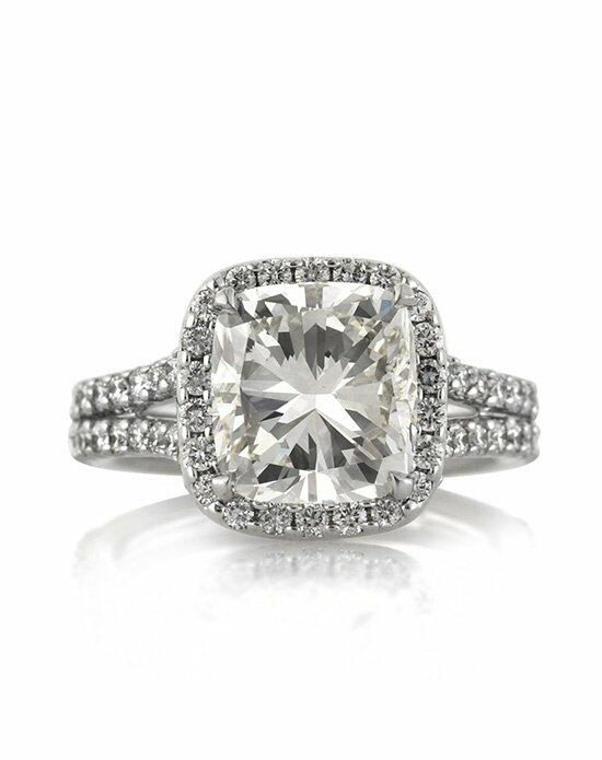 Mark Broumand 4.82ct Cushion Cut Diamond Engagement Anniversary Ring Engagement Ring photo