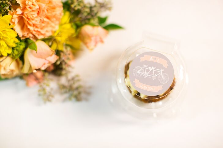 Personalized Packaged Cupcake Favors
