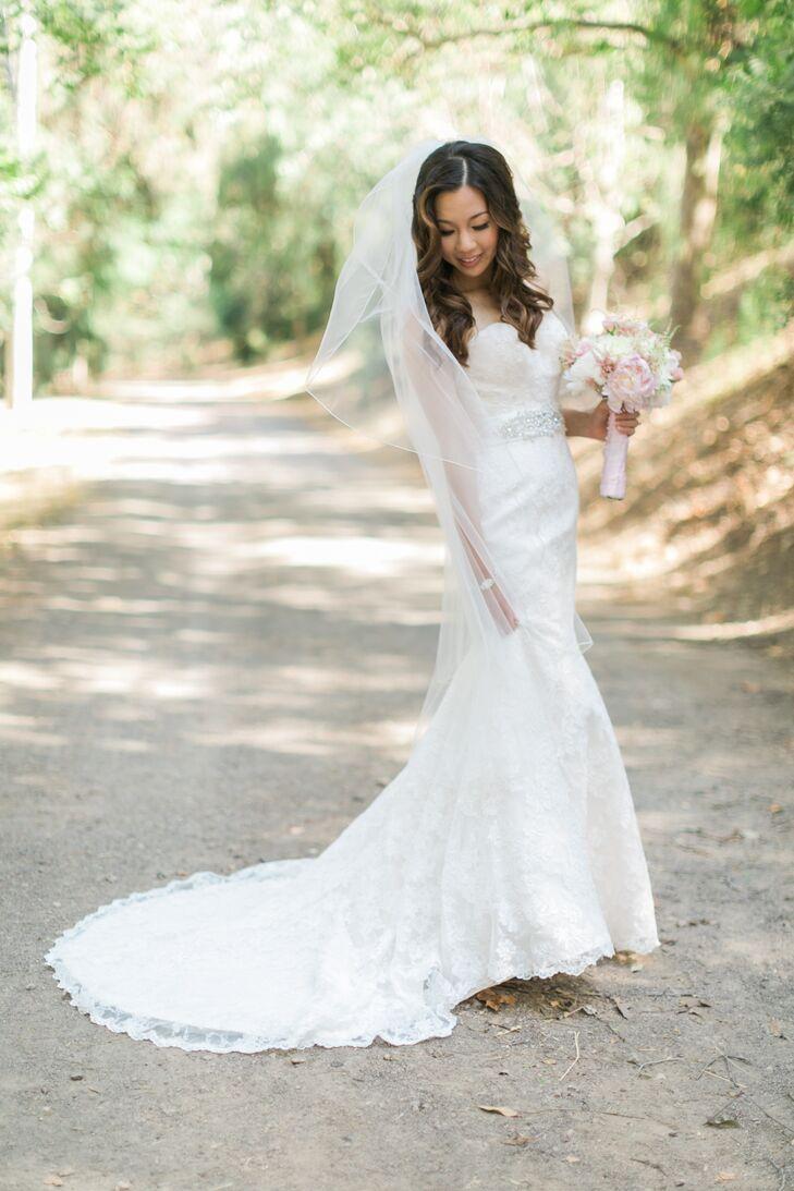 A romantic shabby chic wedding at brookside equestrian for Wedding dresses walnut creek ca