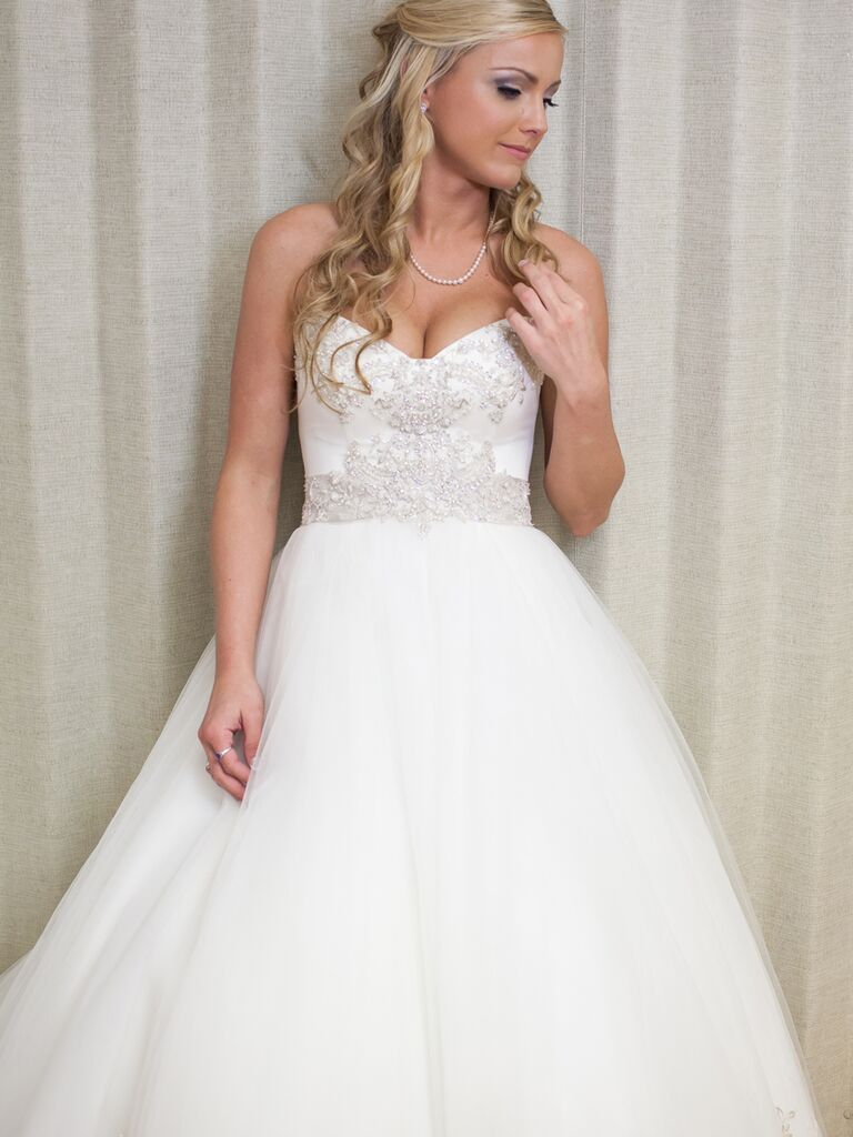 Princess Wedding Gown With Bling By Casablanca