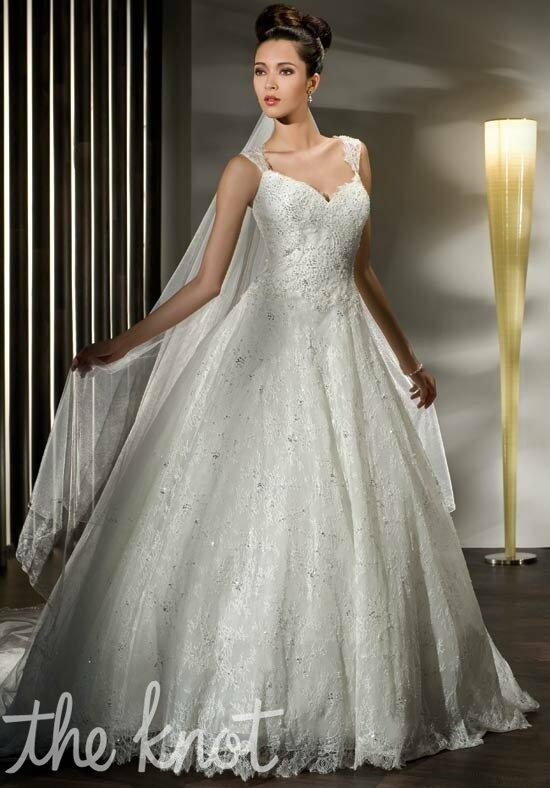 Demetrios 1433 Wedding Dress photo