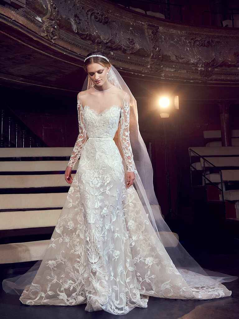 Elie Saab Fall 2018 Collection Bridal Fashion Week Photos