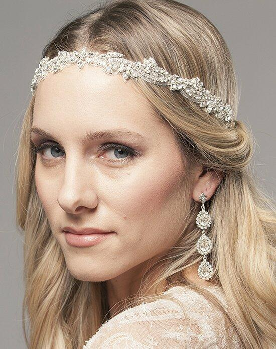 Laura Jayne Demi Embroidered Hair Band Wedding Headbands photo
