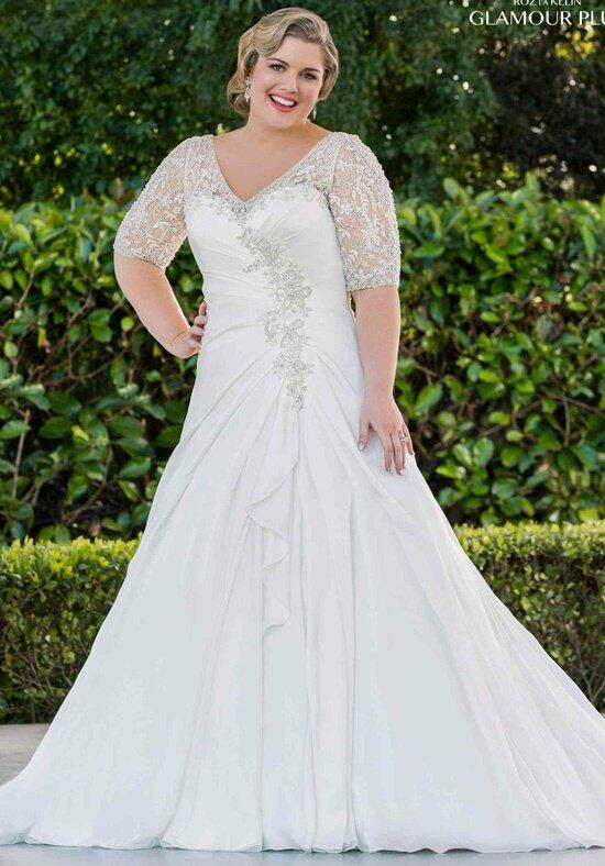 Roz la Kelin - Glamour plus Collection Claudette 5732T Wedding Dress photo