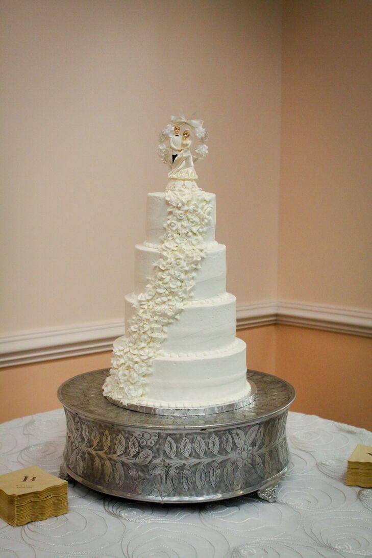 Springtime Southern Vintage Wedding Cakes