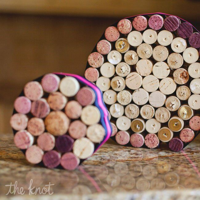 Cork Wedding Decorations: Cork Wedding Decor