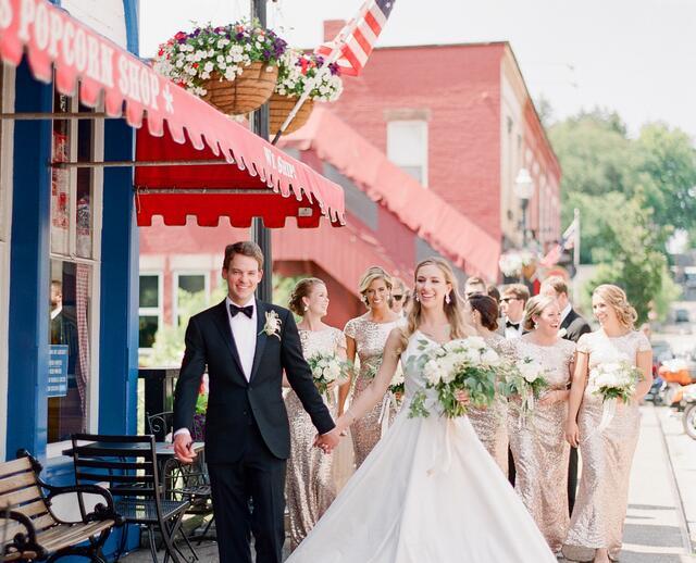 An Elegant Formal Wedding A The Club At Hillbrook In Chagrin Falls Ohio