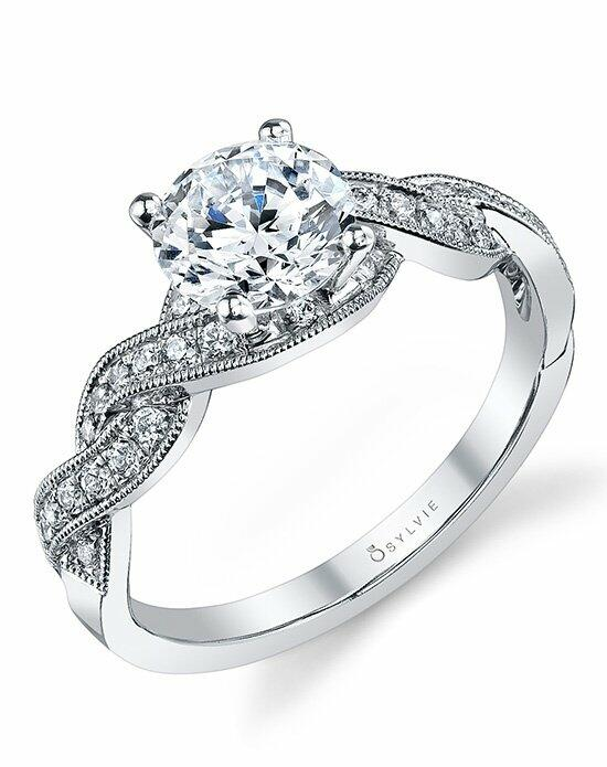 Sylvie Collection S1094 Engagement Ring photo