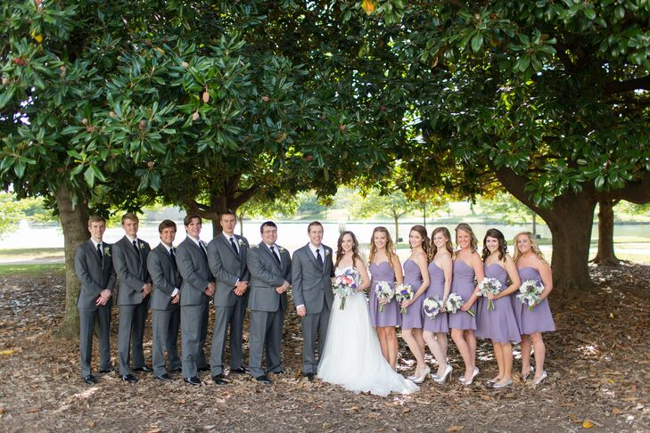 A classic outdoor wedding in huntsville al for Wedding dress shops in huntsville al