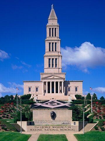 george washington masonic national memorial alexandria va