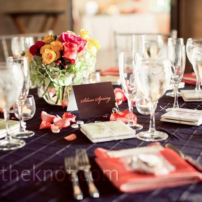 View Wedding Decor: Pink And Brown Wedding Decor