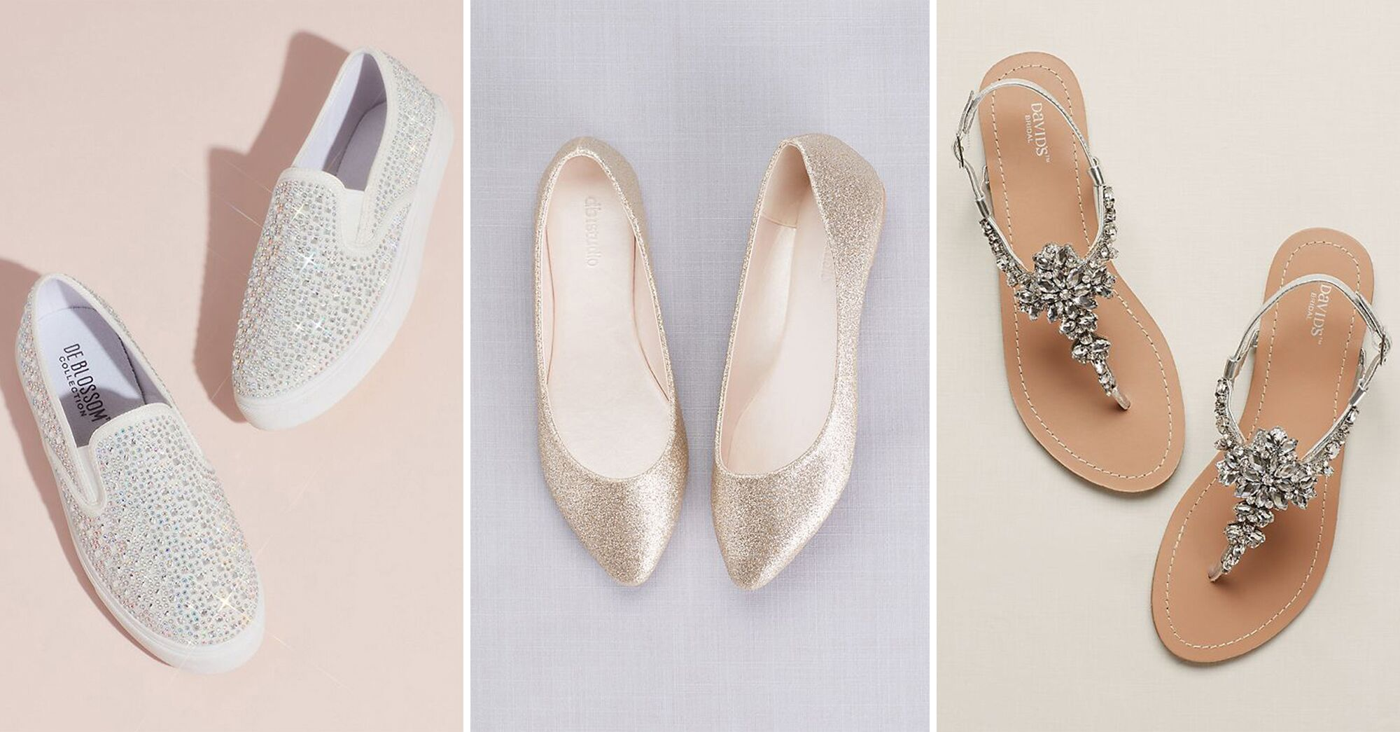 33 Sparkly Wedding Shoes To Glitter Down The Aisle In